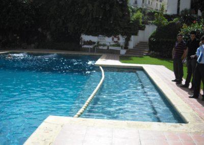 separador piscina