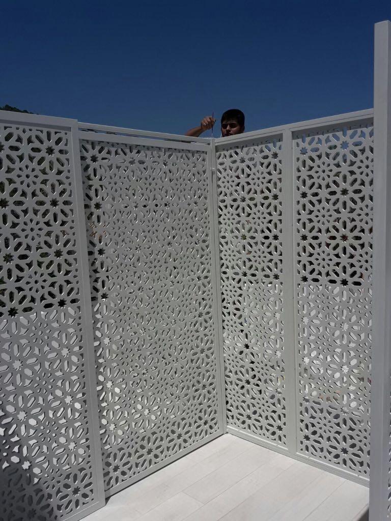 Celosías para exteriores en Málaga