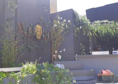 Celosias decorativas para negocios
