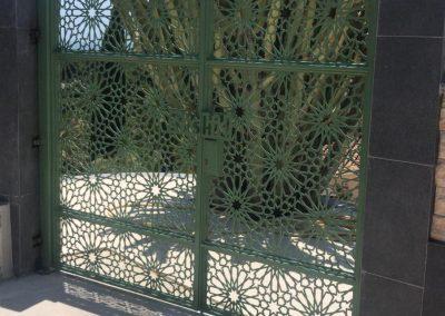 Puerta de Celosía personalizada en Málaga
